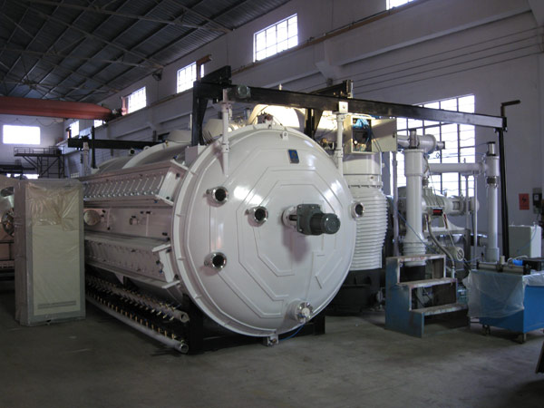 Large-Scale Cathodic Arc PVD Coater