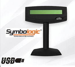 Display do Cliente Gertec p/ Monitor TYCO 1515L