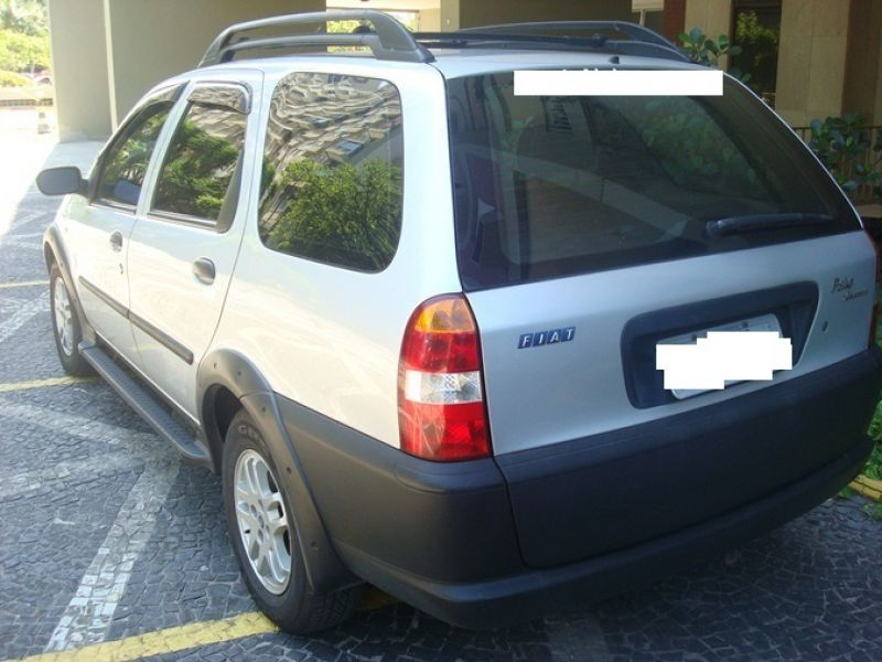 Palio Weekend Adventure 1.8 MPI 8V 4P 2003 PRATA Gas/GNV EXCELENTE ESTADO