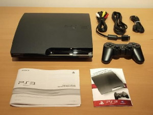 Playstation 3 Play 3 Ps3 Slim 160gb Sony + Brinde Cabo Hdmi