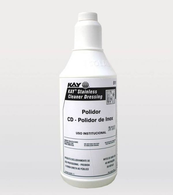 Ecolab KAY® CD Stainless Cleaner Dressing Polidor de Inox