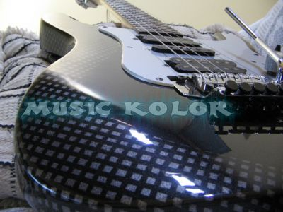 PINTURA DE GUITARRA - MUSIC KOLOR