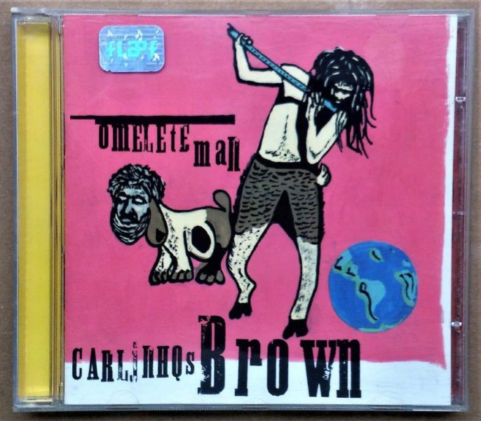 Vendo Cd Original Omelete Man - Carlinhos Brown