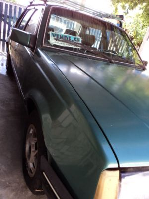 VENDO AUTOMOVEL MARCA MONSA SL/E COR VERDE