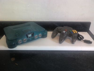 Nintendo 64 ice blue