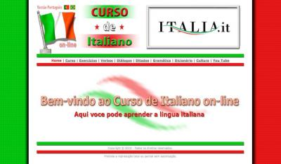 Aulas de Italiano - ON LINE