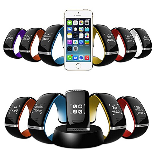 Relógio Bracelete Gear Display Oled Touch P/ Iphone/ Samsung/ Htc Bluthooth! Lançamento
