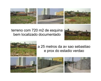 terreno 720 m2 de esquina murado documentado