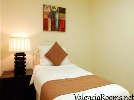 Affordable private rooms in Valencia, Spain10€