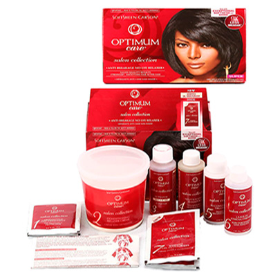 Optimum Care Anti Breakage No lye Relaxer Kit Forte