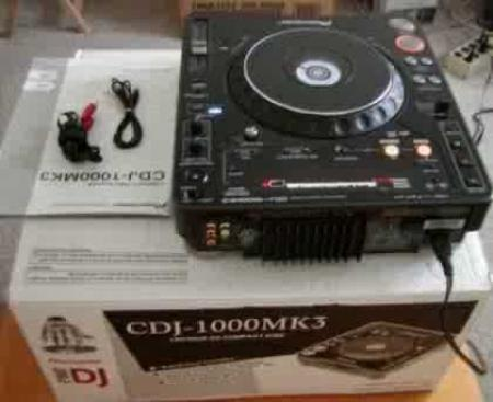 Pioneer DJ BOX 1 PRO CD PLAYER PACKAGE