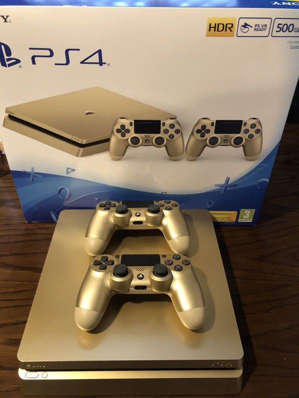 Sony PlayStation 4 Pro GOLD Gaming Console original