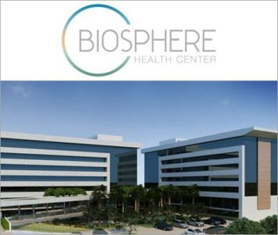 BIOSPHERE HEALTH CENTER - Sala 125,82m²