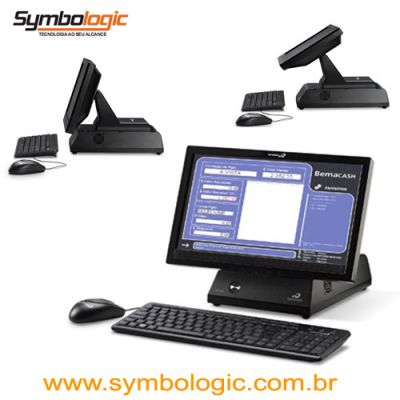 Bematech - Monitor c/ CPU integrada RS1600
