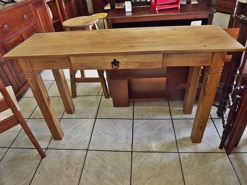 Armario Aço Escritorio ~ Aparador rústico de madeira maciça com uma gaveta