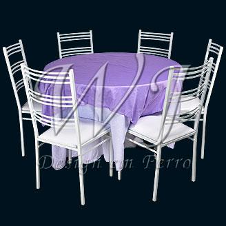 Cadeira de ferro para festa