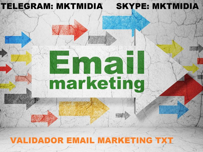 Software Validador De Email Marketing Leads Txt
