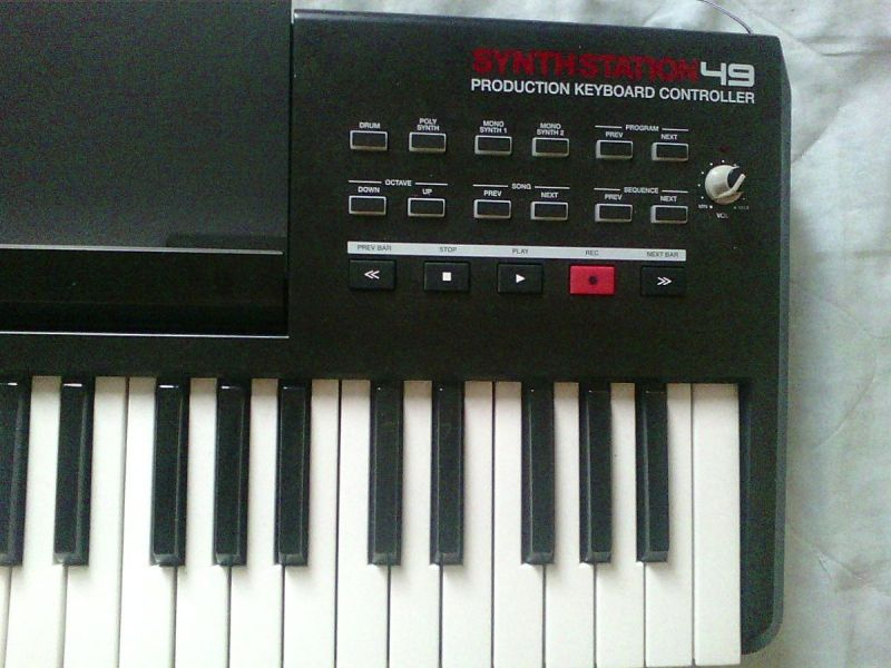 Teclado Synthstation Akai 49 Ipad