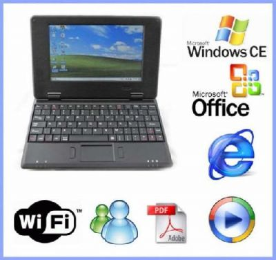 PI41765 - Netbook Wifi Windows CE 6.0 Preto 7