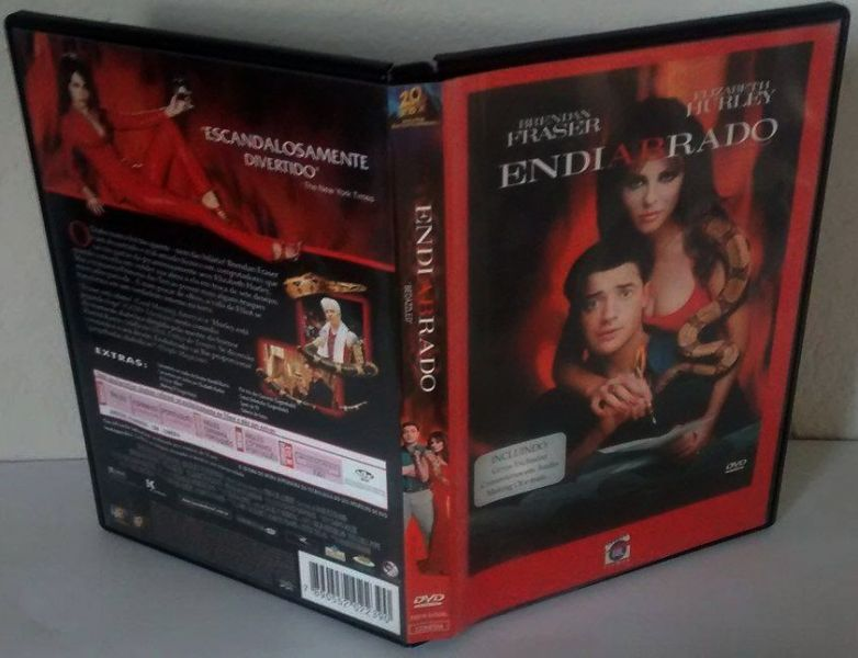 Dvd Endiabrado - originel seminovo
