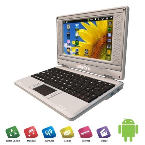 Netbook Microboard Via VT8650 Android 2.2 Little Book M7 800MHZ 7