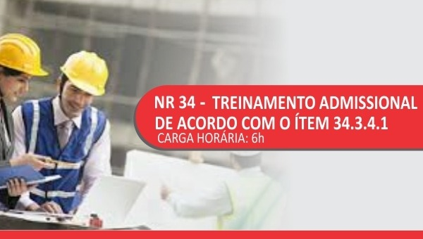 FT - Treinamento NR34 Treinamentos Industriais ON & OFFSHORE