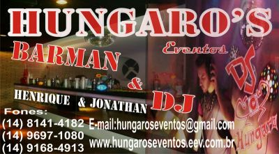 hungaros eventos barman e dj