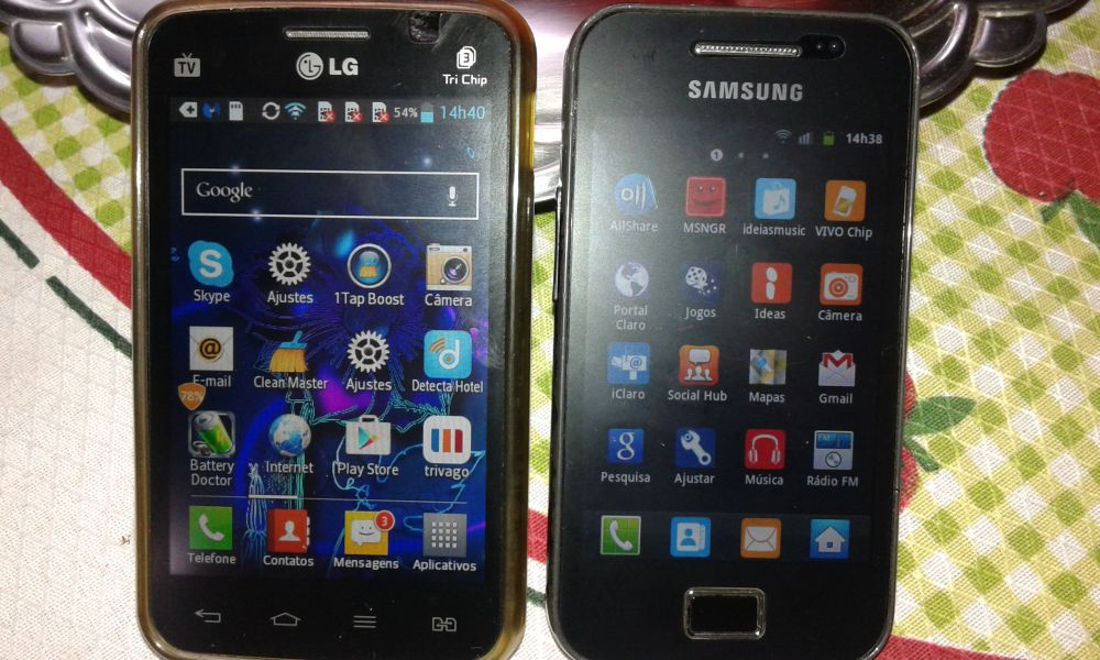 Combo LG trichip + Samsung ACE
