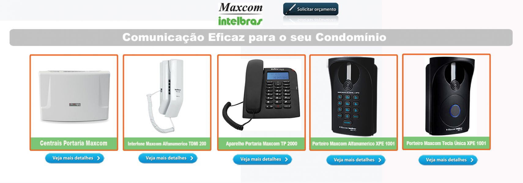 Central de Pabx - Intelbras - Panasonic - Maxcom - Digital