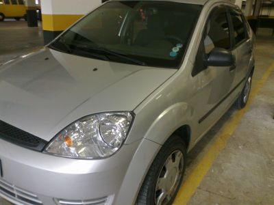 VENDO FIESTA SEDAN PRATA 1.6 FLEX