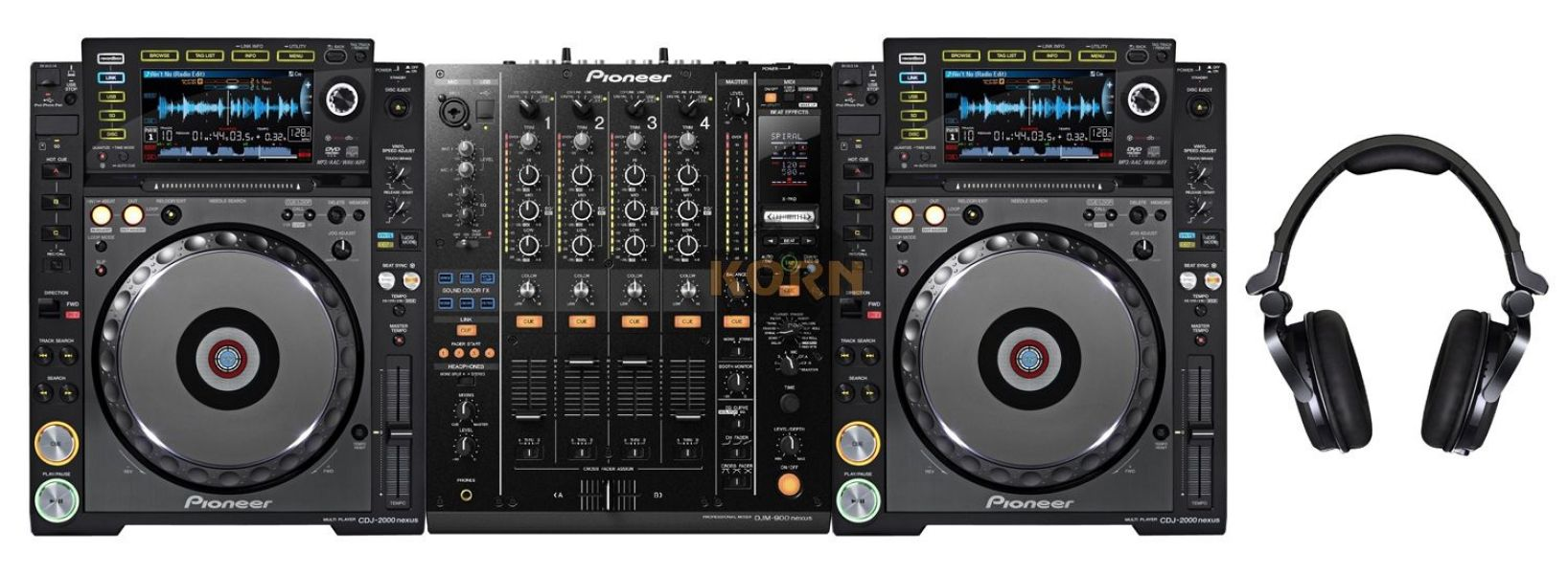 2X PIONEER CDJ-350 Turntable + DJM-350 Mixer....$1,100