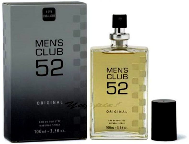 Perfume Men's Club 52 Original EDT 100ml (Pronta Entrega)
