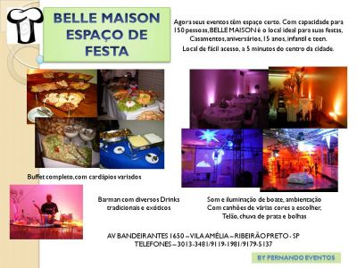 BUFFET BELLE MAISON