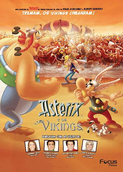DVD Asterix e Os Vikings