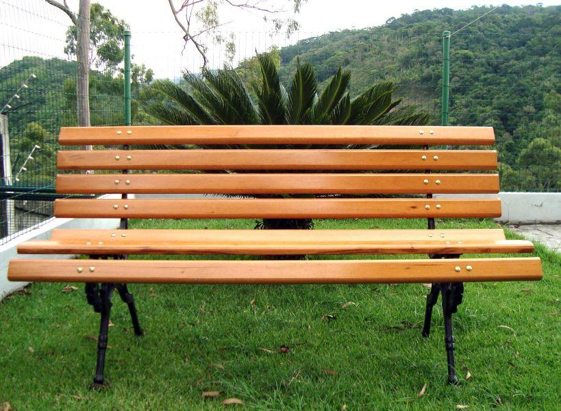 banco de madeira para jardim rio de janeiro:banco de madeira cod 1053 banco em madeira para jardim material 09