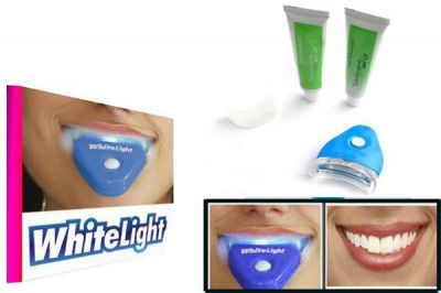 Clareador dentário White Light - WhiteLight. Resultado rapid