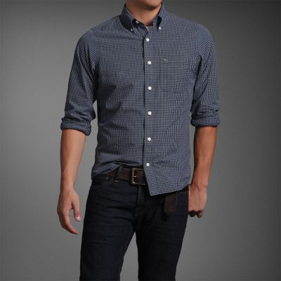 Camisa Social Masculina Abercrombie